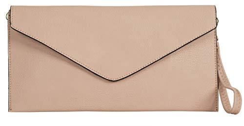Rose Handbag Forme Bandoulière Longue cm Medium Pochette en Enveloppe LxH de Tan Parti Shop Mariage Bébé 32x17 Femmes Avec Big H1BXxX