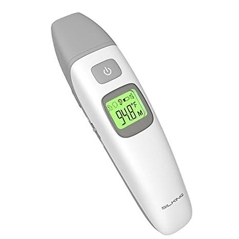Termómetro infrarrojo para oído y frente con doble modo médico clínico profesional y termómetro digital para