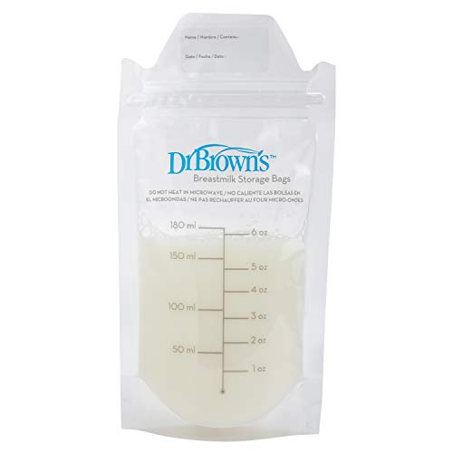 Dr. Brown's 100 Piece Breastmilk Storage - Storage Milk Baby Bags