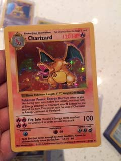 Used, Charizard (4/102) - Basic Pokemon Card - Bas
