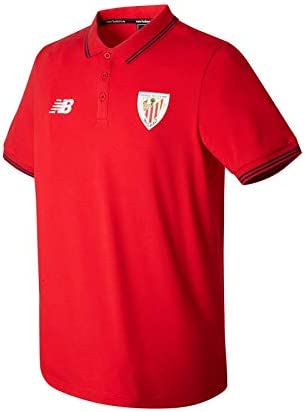 New Balance AC Bilbao Piqué MC 2017-2018, Polo, Red, Talla XXL ...