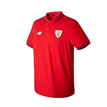 New Balance AC Bilbao Piqué MC 2017-2018, Polo, Red, Talla M ...