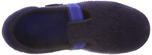 Bleu Montants Slipper Ink 376 Femme Haflinger Chaussons Joschi Xfwnxq58t