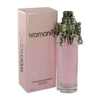Thierry Mugler Womanity Eau de Parfum Refillable Spray, 2.7 Ounce