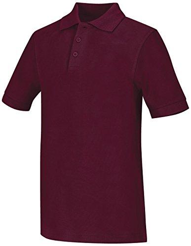 Adult Unisex Short Sleeve Pique Polo (Easy Care Pique Polo)