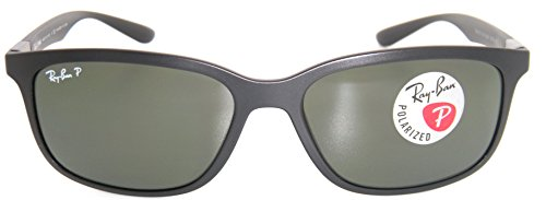 fc371e4f073 Ray-ban Tech Liteforce RB 4215 601S 9A 57mm Matte Black Frame Green  Polarized  Amazon.ca  Shoes   Handbags