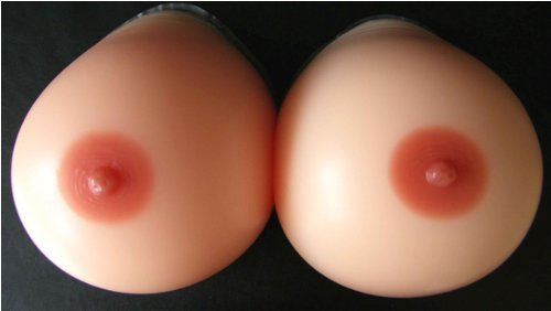 Forever Young Silicone Breast Form Perky Shape Fuller Boobs TV Cup B