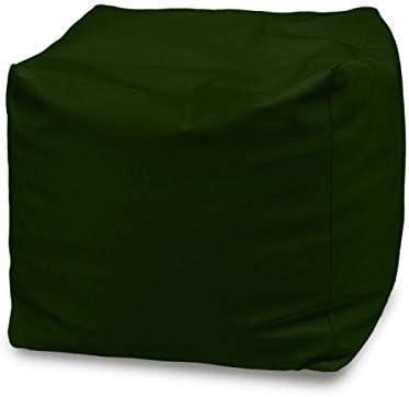 Italpouf Puf Exterior Cubo 50 x 50 x 50 Puf reposapiés Impermeable. Puf Grande de jardín con reposapiés Acolchado. Puff Puf 24 Colores.: Amazon.es: Hogar