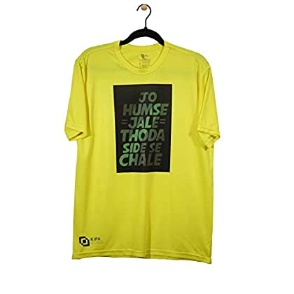 KIPA JO HUMSE JALE Round Neck T-Shirt – Lemon