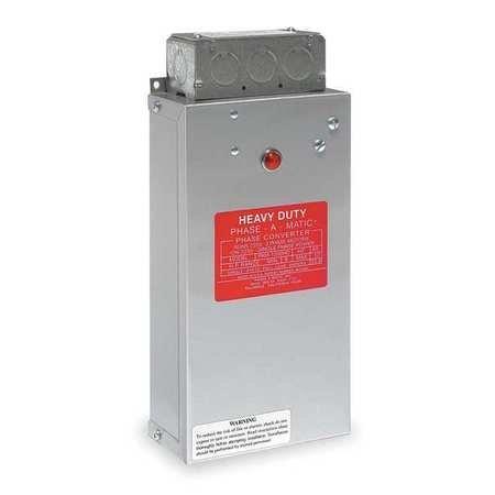 Phase Converter, Static, 3-5 HP