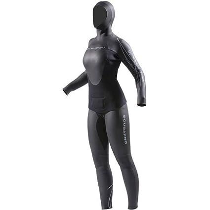 9f8ffadc67 Amazon.com  ScubaPro Womens Element 2PC Apnea 3mm Wetsuit  Sports ...