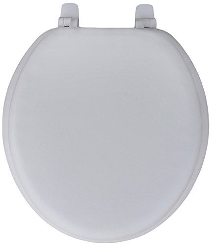 - Trimmer Premium Heavy Duty Soft Toilet Seat with Wood Core