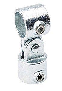 B & K 1-1/4 in. Dia. x 1-1/4 in. Dia. Socket 90 deg. Galvanized Steel Swivel ()