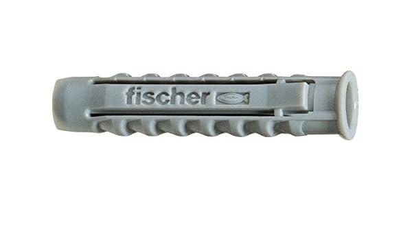/se vende por 4 /Longitud 70/mm/ /Di/ámetro 14/mm/ Taco Nylon SX Fischer/