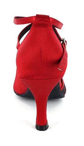 TDA - salón mujer rojo y negro