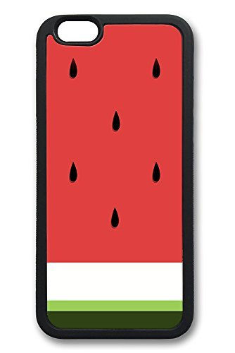 iPhone 6 Custodia anguria Minimal Art Nero morbida in TPU per iPhone 6 (4,7) Colorful Pattern massima protezione iPhone 6 6S
