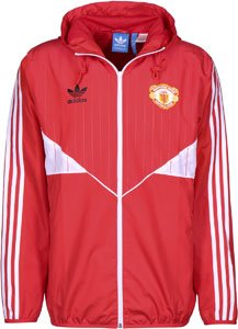 adidas Manchester United Giacca a vento L red