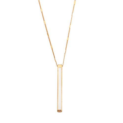 Lariat White Necklace - 31