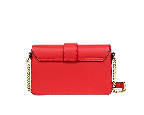 Portable Messenger Mini Shoulder XDDB Bag Leather Wild Minimalistic Lady OznX7x