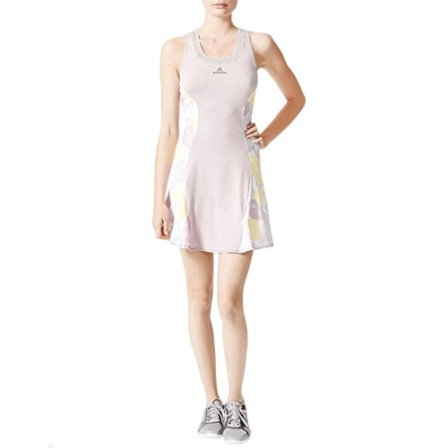 adidas Stella McCartney Womens Barricade Roland Garros Tennis Dress - S Adidas Tennis Dress