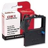 OKI - Print ribbon - 1 x black - 2 million characters