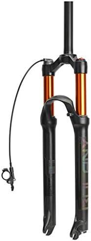 SN マウンテンバイクサスペンションフォーク、26インチ1-1 / 8 ' 軽量 マグネシウム合金 MTB サスペンションロック ショルダー 旅行:100ミリメートル (Color : B, Size : 29inch)