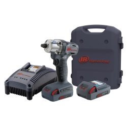 """Ingersoll Rand (IRTW5150-K2) 1/2"""" Drive IQv20 Series Light Duty Cordless Impact Wrench Kit with Two Batteries"""