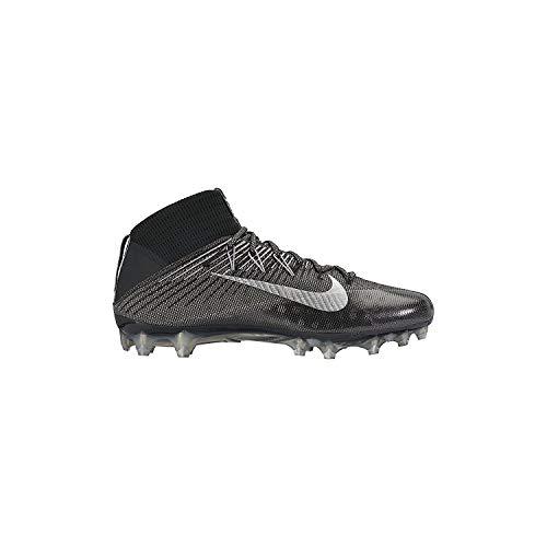 (Nike Men's Vapor Untouchable 2 Football Cleat Black/Anthracite/Metallic Silver Size 9 M US)