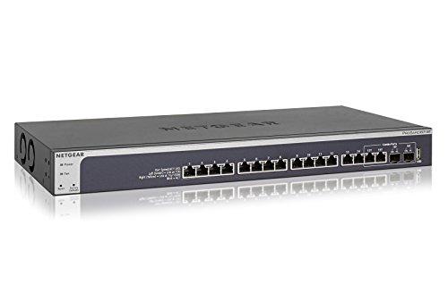 NETGEAR ProSAFE 16-Port 10-Gigabit Ethernet Smart Managed Switch (XS716T-100NES)