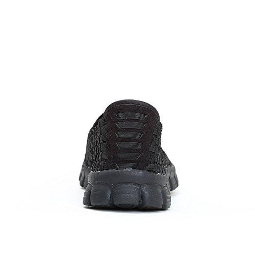 Slip Chaussures Et Femme De Alesya Sport Bottes on Noir XwrXpqtn
