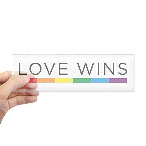 - CafePress Love Wins Bumper Sticker 10