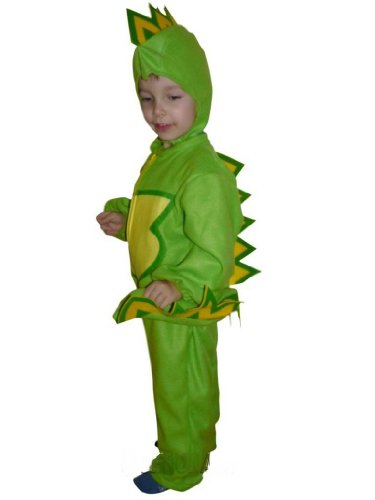 Fantasy World Boys/Girls Dragon Halloween Costume, Size 6, (Good Costume Ideas For Guys)