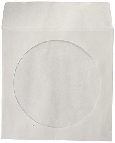 BestDuplicator CDSLV 100 WH Paper sleeves Window