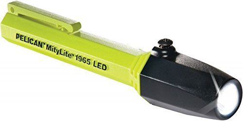 1900 Flashlight - Pelican - 1965 - MityLiteTM LED Flashlight - Yellow