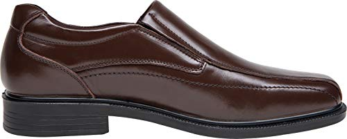 Pictures of JOUSEN Men's Loafers Leather Formal Square 5