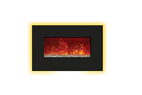 Cheap Amantii WM-BI-26-3623 Enhanced Series Wall Mount/Built-In Electric Fireplace 26-Inch Black Friday & Cyber Monday 2019