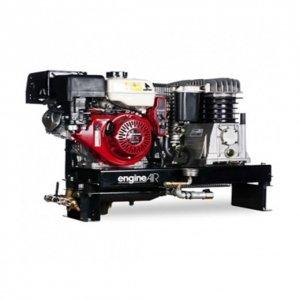 Compresor de aire térmica gasolina sobre Chà ¢ SSIS Motor Honda gasolina 4, 8 cv