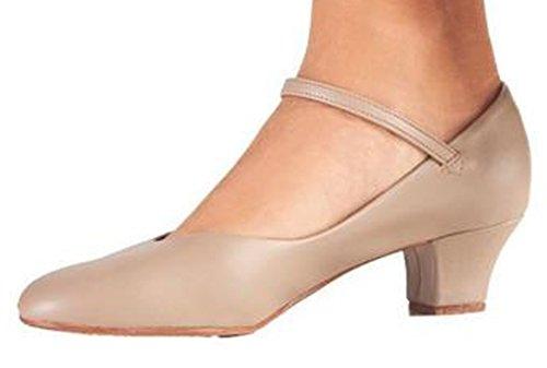 Así Que Danca Ch50 Character Shoe (adult 6.5, Tan)