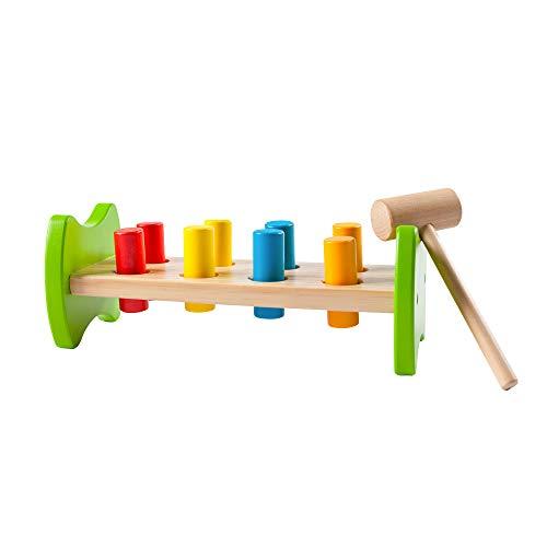 - Fat Brain Toys Pound & Tap Hammer Bench