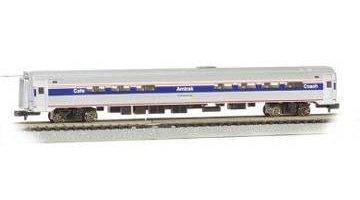 Bachmann Williams BAC14165 N Budd Amtrak Phase IV B (Amtrak Cafe Car)