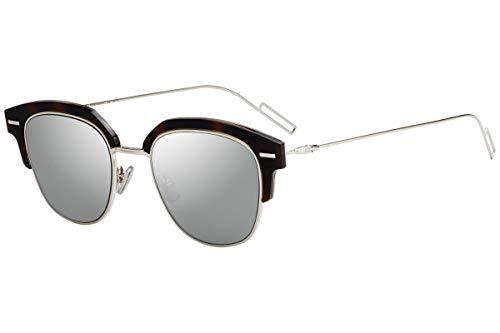Christian Dior Homme DiorTensity Sunglasses Crystal Havana w/Grey Silver Lens 48mm KRZ0T Dior Tensity Dior Tensity/S DiorTensity/S