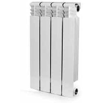 4 Section , Bimetal, Wall-hung ,Aluminum Heating Radiator.