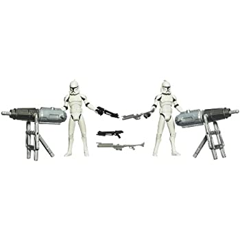 Star Wars The Clone Wars: Turbo Tank Support Squad Figures