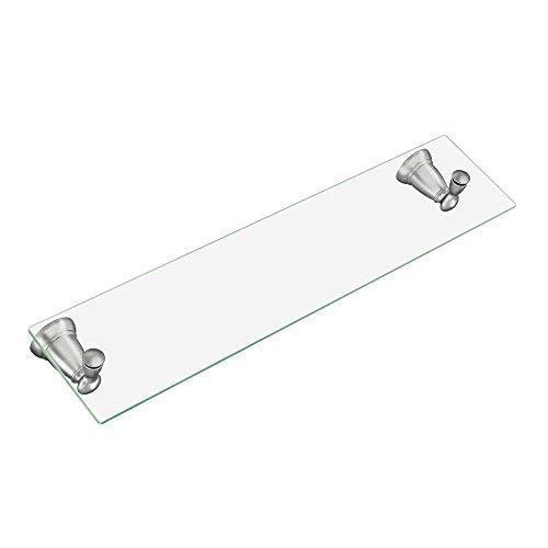 (MOEN/FAUCETS Y2690BN Banbury Brushed nickel vanity shelf)