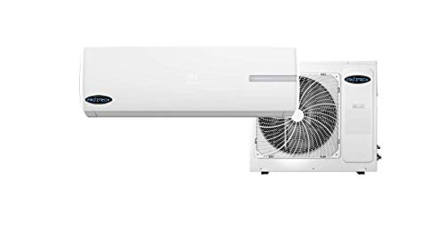 FROZTECH Vivid Diamond Series 220V Heat Pump SEER 17 Air Conditioning Ductless Mini Split Inverter - SEER 17 Aire Acondicionado HVAC Unit. Room Air Conditioner, Mini Aire Acondicionado (12,000 BTU)
