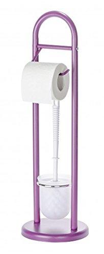 brabantia WC Bad Set Toilettenbürste Klopapierhalter Treteimer Schwarz Matt