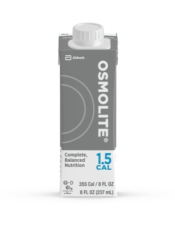 Osmolite 1.5 Cal Formula, 8 Ounce Carton, Unflavored, Abbott 64837 - Case of 24 by Osmolite 1.5