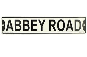 Beatles Street Sign Abbey Road 5 X - Sign Abbey Street Road