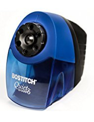 Bostitch QuietSharp 6 Classroom Electric Pencil Sharpener, 6-Holes, Blue (EPS10HC) (2-Pack)