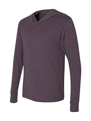 Next Level Mens Triblend Long-Sleeve Hoodie (N6021) -VINTAGE PU -L]()
